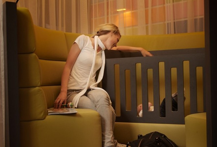 MV Architects schiphol baby care lounge 4
