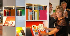 Prinses Laurentien opent de Airport Library