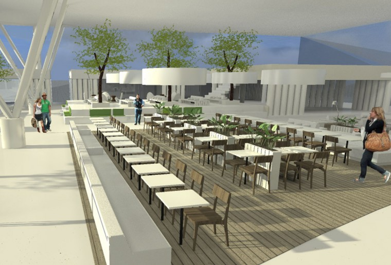 MV Architects Schiphol Lounge 4-4