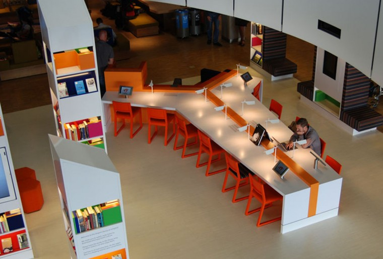 MV Architects Schiphol Airport library 2
