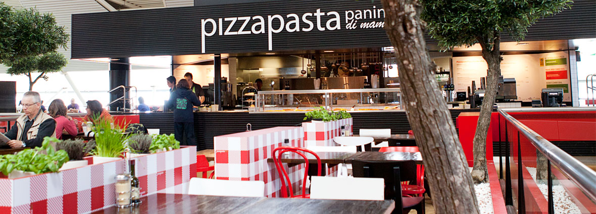 SCHIPHOL PIZZA PASTA PANINI